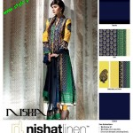 Latest Nishat Linen Embroidered Lawn For Summer 2012-004