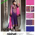 Latest Nishat Linen Embroidered Lawn For Summer 2012-005