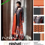 Latest Nishat Linen Summer Collection For Women 2012-007