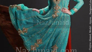 NazJunaid Latest Formal & Party Wear Dresses 2012 1