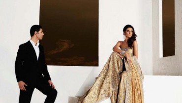 Rouge Latest Formal Collection 2012 by Faraz Manan 1