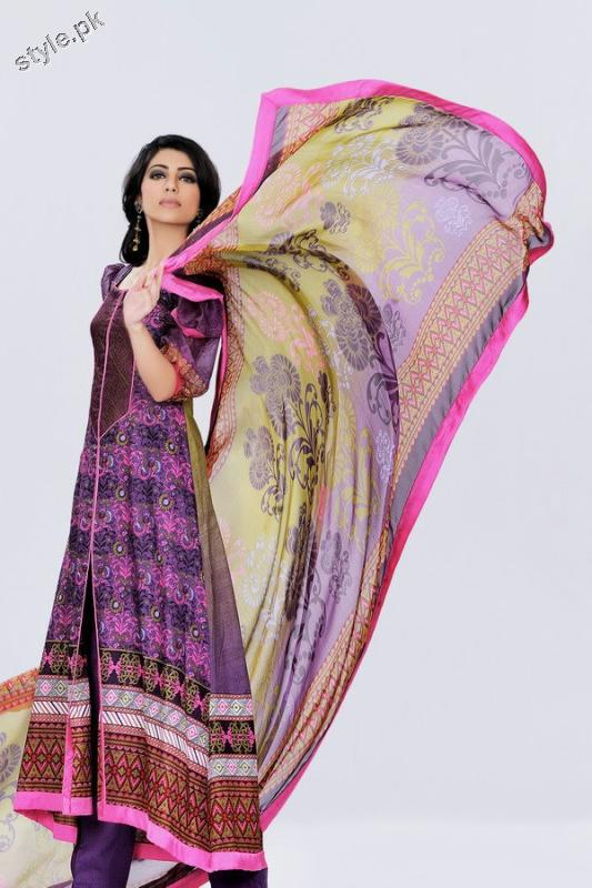Sana Samia Magnifique by Lala 2012 Complete Catalog 4 local designer clothes for women