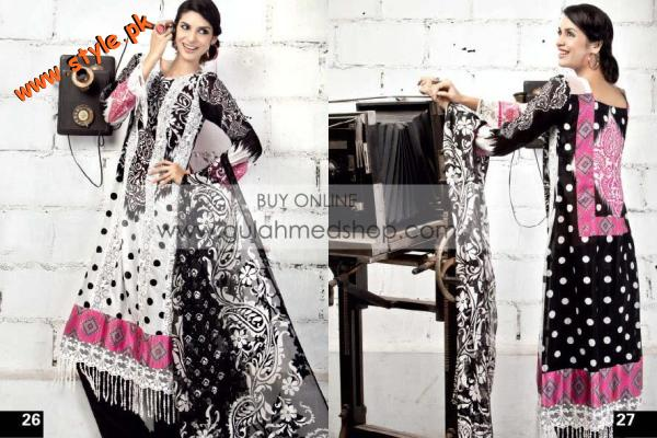 The Real Lawn For Summer 2012 By Gul Ahmed 004 pakistani dresses fashion brands