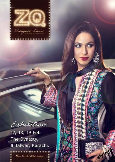 ZQ Designer Lawn Collection 2012 by Star Textile Mills 1 designer dresses