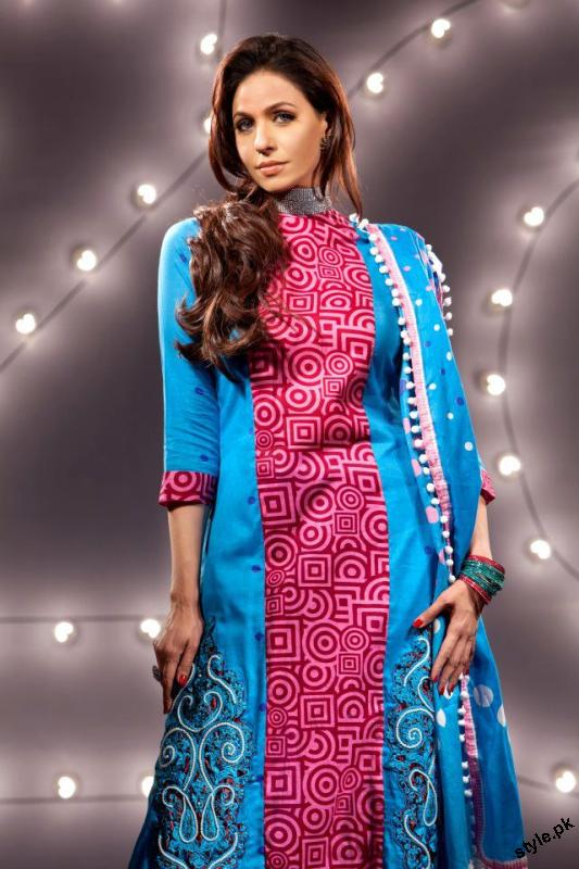 ZQ Designer Lawn Collection 2012 by Star Textile Mills 14 designer dresses