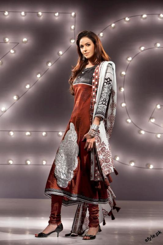 ZQ Designer Lawn Collection 2012 by Star Textile Mills 17 designer dresses