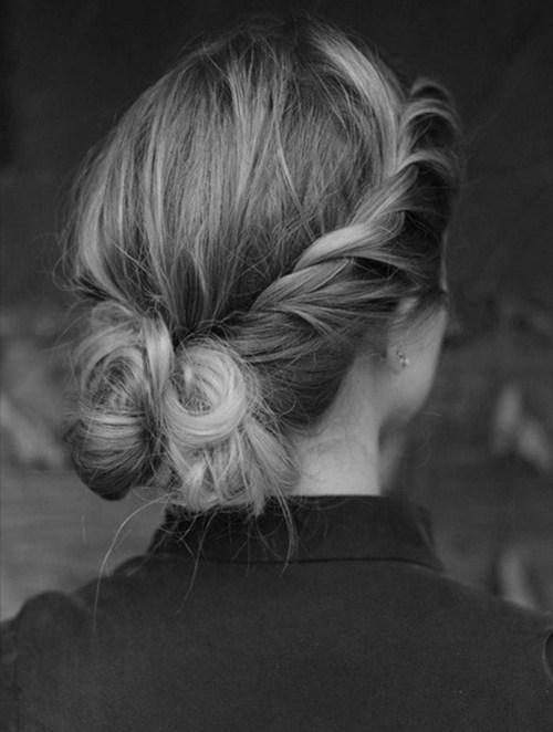 The Braided Bun hair styles_03