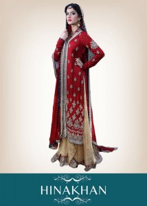 latest bridal collection 2012 by hina khan (6)