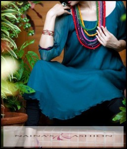 latest dresses collection 2012 by nainas fashion 005 257x300 designer dresses
