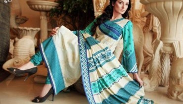 Barkha and Batik Lawn Collection 2012 by Moon Textile 1