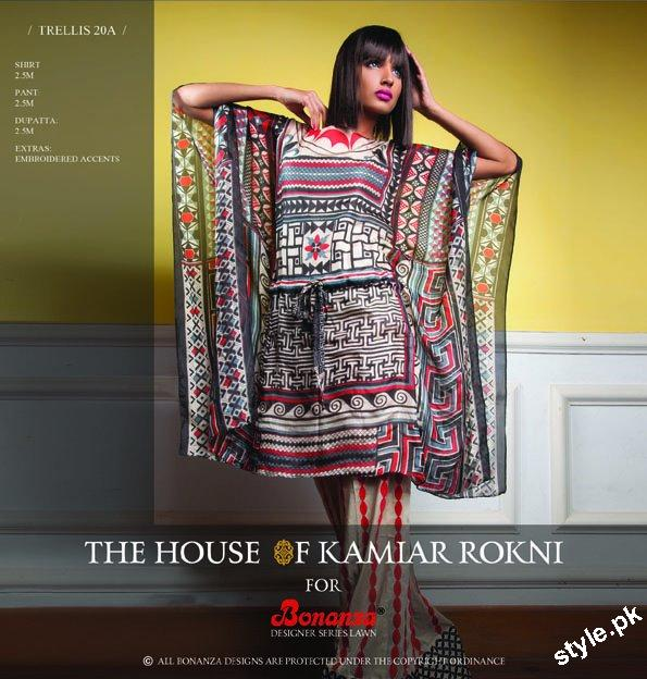 Bonanza Lawn Prints 2012 Collection by Kamiar Rokni 11