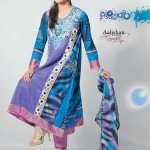 Dawood Aalishan Lawn Krinckle for Summer - Catalouge 12