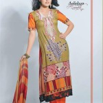 Dawood Aalishan Lawn Krinckle for Summer - Catalouge 3