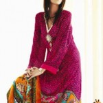 Latest Block Prints Collection For summer 2012 By Shirin Hassan-003