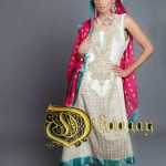 Latest Dhaagay Semi Formal Wear Collection For Summer 2012 005 150x150 for women local brands