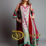 Latest Dhaagay Semi Formal Wear Collection For Summer 2012 006 150x150 for women local brands
