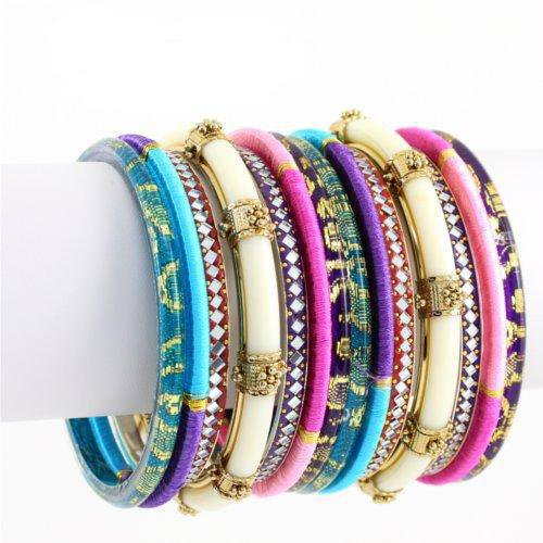 gold collections bangles large creations stack bangle anjali fashion