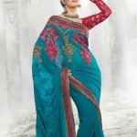 Latest Fashion Indian Saree Collection 2012 For Girls 3