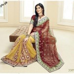 Latest Fashion Indian Saree Collection 2012 For Girls 8