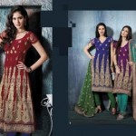 Latest Fashion Party Wear Dress 2012 for Women 11