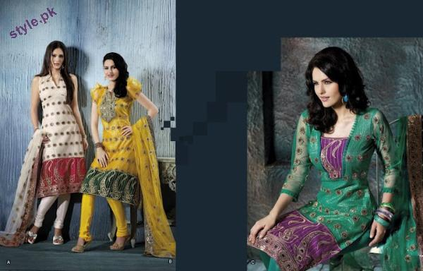 Latest Fashion Party Wear Dress 2012 for Women 13 designer dresses bridal dresses