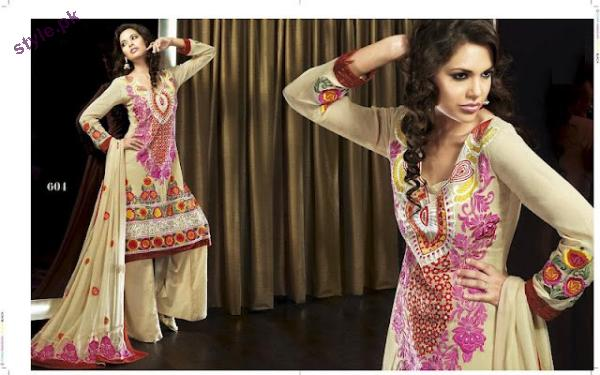 Latest Fashion Party Wear Dress 2012 for Women 14 designer dresses bridal dresses
