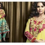 Latest Fashion Party Wear Dress 2012 for Women 4