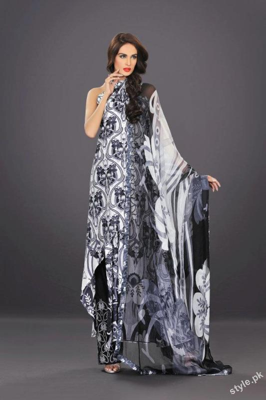 Latest HSY Lawn Prints 2012 Complete Collection 2 hsy designer