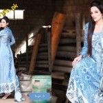 Latest Lawn Collection For Summer By Hira Lari 2012-005