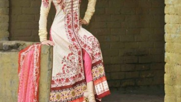 Latest Lawn Collection For Summer by Lala 2012-003