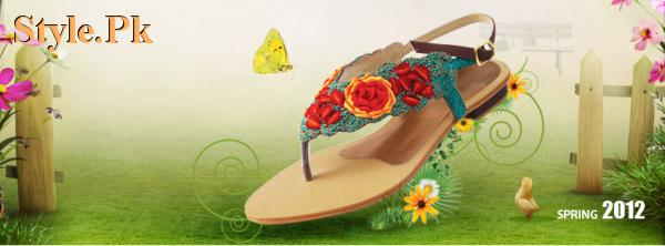 Latest Stylo Spring Casual Wear Slippers 2012 003 brand stylo for women local brands
