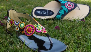 Latest Stylo Spring Casual Wear Slippers 2012-004