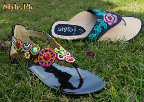 Latest Stylo Spring Casual Wear Slippers 2012 004 brand stylo for women local brands