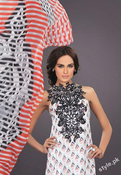 Latest Summer Lawn 2012 by The World of HSY Prints 2012 1 local designer clothes for women hsy designer