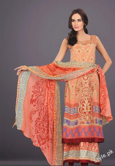 Latest Summer Lawn 2012 by The World of HSY Prints 2012 2 local designer clothes for women hsy designer