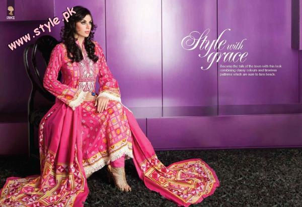 Latest Summer Trend By Grace Fabrics For Women 2012 020 pakistani dresses