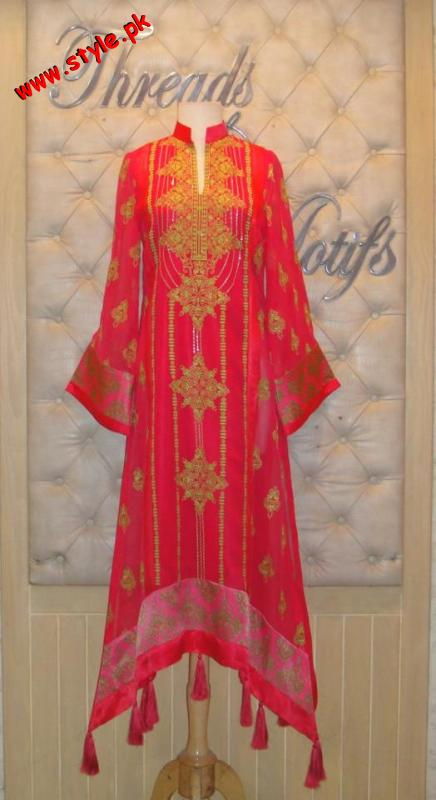 Latest Threadz And Motifz Party Wear Dresses 2012 004 pakistani dresses