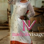 Latest nadya Visage Summer Formal Dresses 2012-006