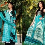 Latestt Libas & Riwaj Lawn Summer Casual Wear Collection By Shariq Textiles 2012-019