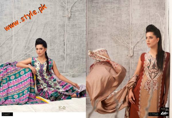 Latestt Libas & Riwaj Lawn Summer Casual Wear Collection By Shariq Textiles 2012-020