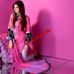 Mahnoush Summer Lawn Collection For Women 2012-003