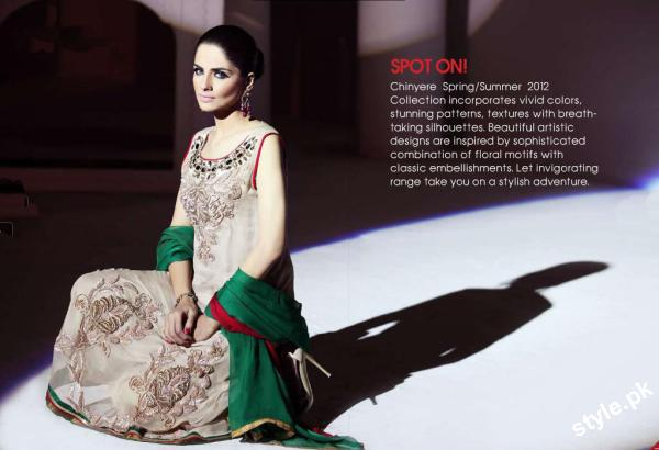 New Arrivals of Stitched Lawn Collection 2012 by Chinyere 4 local designer clothes for women chinyere bareeze pakistani brand