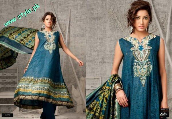 Rivaj And Libas Lawn Collection For Summer 2012 by AL Zohaib Textiles 001 pakistani dresses fashion brands