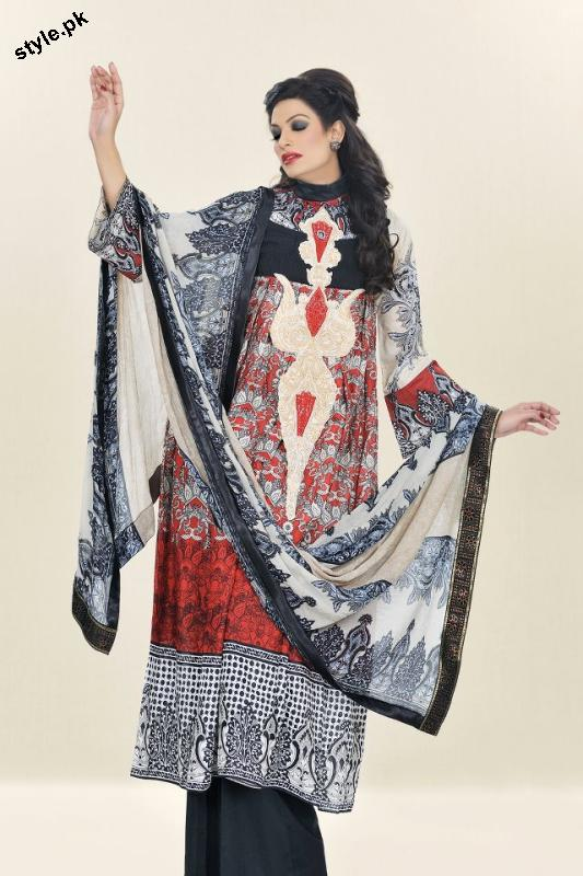 Sadia Designer Lawn Collection 2012 For Summer 1 designer dresses