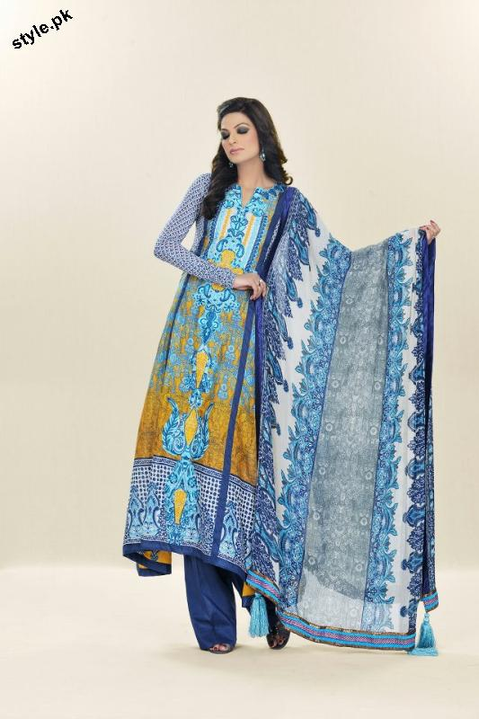 Sadia Designer Lawn Collection 2012 For Summer 3 designer dresses