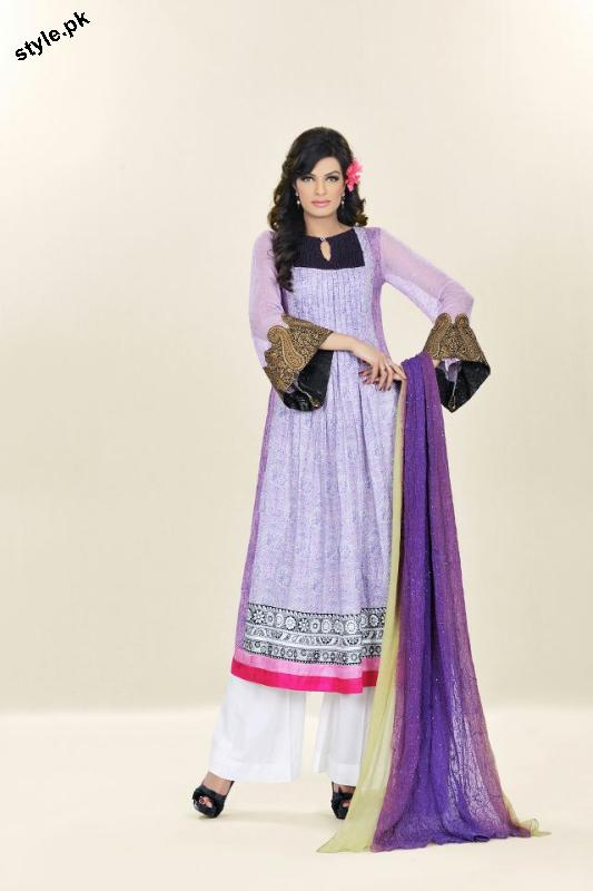 Sadia Designer Lawn Collection 2012 For Summer 7 designer dresses