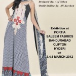 Sadia Designer Lawn Collection 2012 For Summer 8