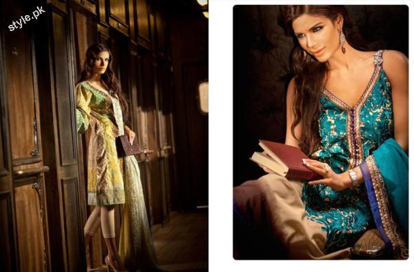 Sana Safinaz Latest SpringSummer Lawn Collection 2012 9 designer dresses