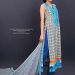 Stylish Lawn Dresses 2012 for Women of Pakistan 13