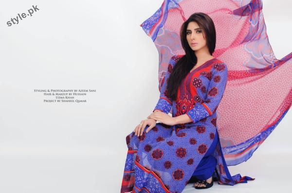 Stylish Lawn Dresses 2012 for Women of Pakistan 7 designer dresses